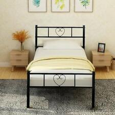 Heart Shaped Single Bed Solid 3ft Metal Beds Frame With Large Storage Space For Sale Online Ebay