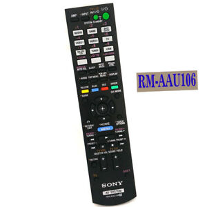 original remote control rm aau106 for sony str dh830 str dh720 str rh ebay com Sony 7.1 Receiver Sony STR DH720 Receiver