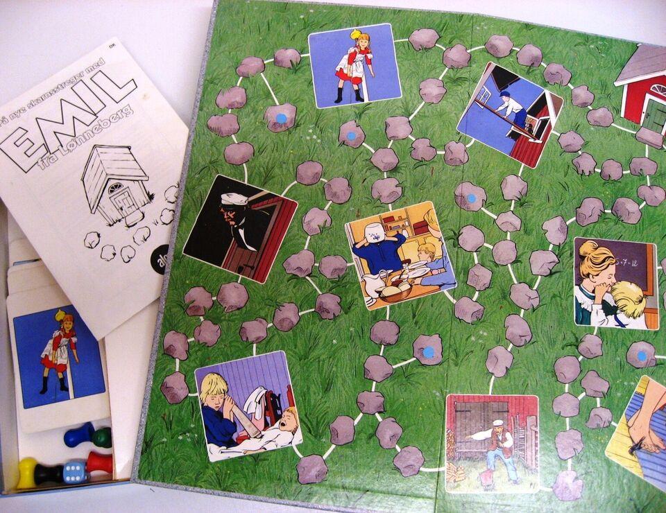 Emil fra Lønneberg, Børnespil, brætspil