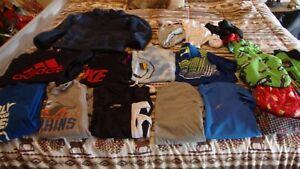 Lot-of-Boys-Mixed-clothing-sizes-7-8-Shirts-jacket-pajamas-socks