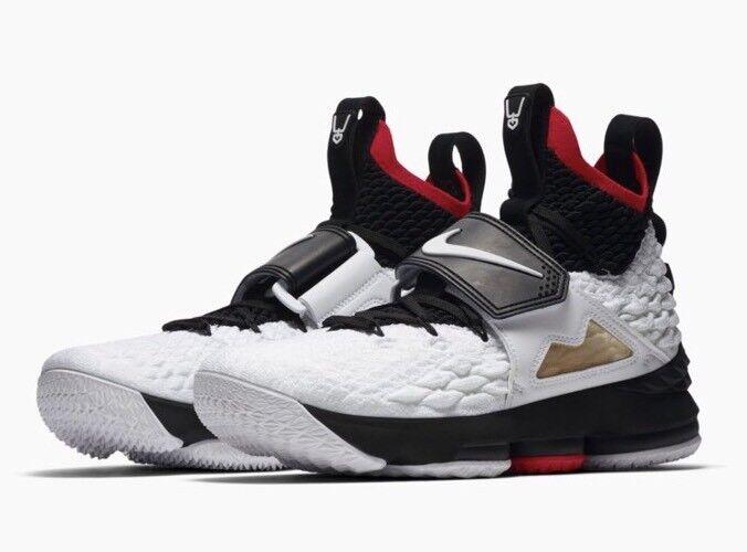 NEW Nike Lebron 15 XV Prime Diamond Turf Deion Sanders White AO9144-100 Sz 10