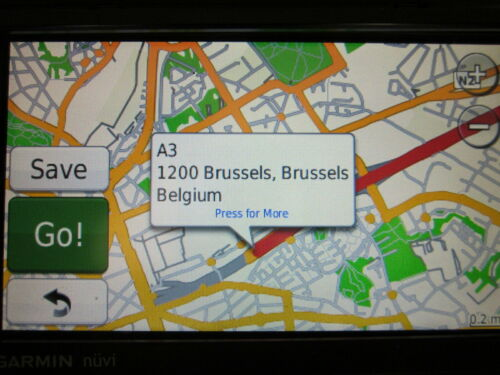 Western Europe GPS Map 2021 for Garmin Devices