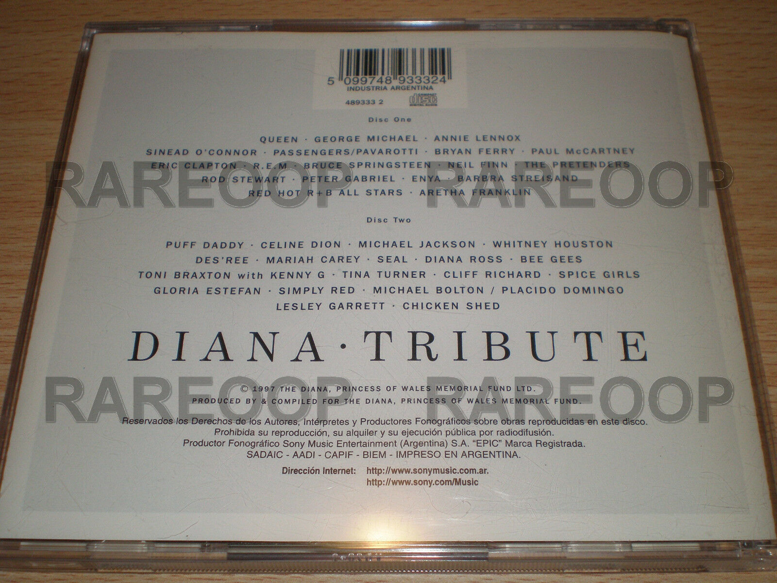 Diana Tribute (2cd) Queen McCartney Spice Girls Michael Jackson Mariah  Carey for sale online | eBay