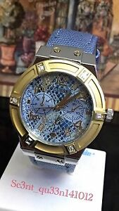 AUTHENTIC-GUESS-LADIES-039-JET-SETTER-WATCH-RRP-349-W0289L2-Brand-New-With-Tag