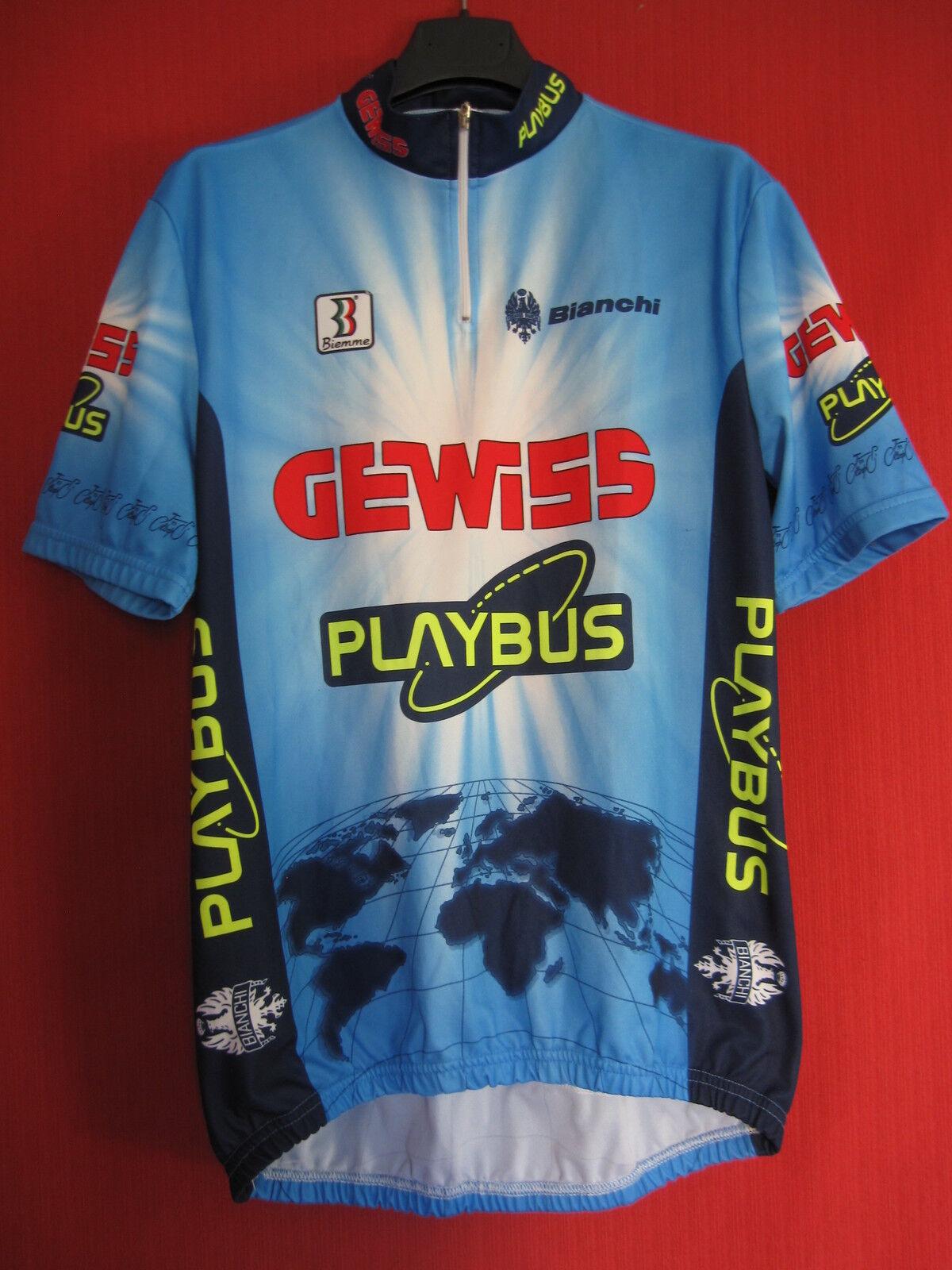Maillot cycliste GEWISS Playbus Biemme Equipe Pro 1996 Vintage - 6   XXL