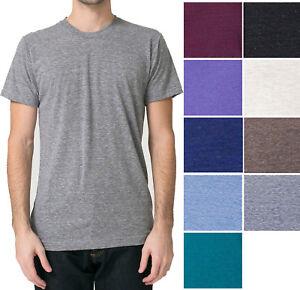 American-Apparel-Tri-Blend-T-Shirt-Vintage-Soft-Track-Tee-XS-S-M-L-XL-2X