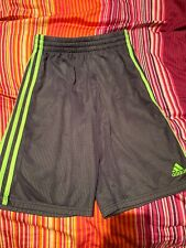 EVERLAST Boys Subtle Striped Pique Athletic Shorts w// Side Stripe FREE Shpg NWTA