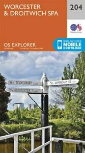 Worcester-and-Droitwich-Spa-by-Ordnance-Survey-9780319243978-Brand-New