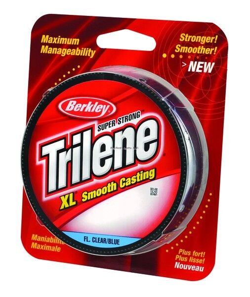 Berkley Trilene XL Mono Filler Spool 10Lb 300Yds Fl.Clear bluee XLFS10-26