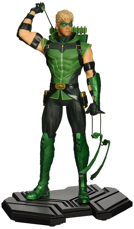 DC Comics Icons vert Arrow Limited Edition  Sculpted Statue  promotions d'équipe