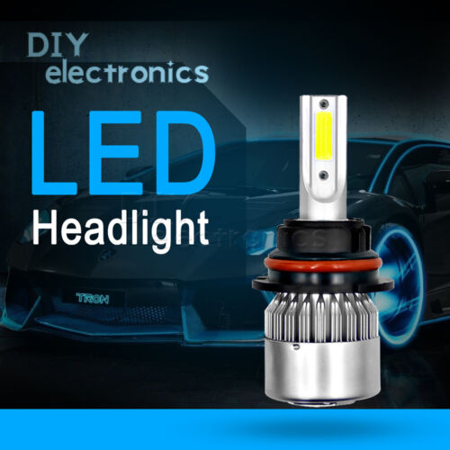 2pcs 72W H7 H1 H4 H3 H11 9005 9006 9007 880 C6 Car LED Light HeadLight 6000K US
