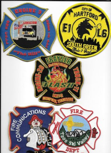 Set # 588   fire patch 5 New Fire Patches