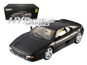 Hot Wheels 1:18 Elite Ferrari F355 Berlinetta X5478 Moulé Noir