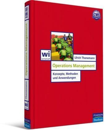 Operations Management von Ulrich Thonemann (2005, Gebundene Ausgabe)