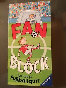 Details Zu Fanblock Von Andrea Schwendemann 2018 Taschenbuch Fussballquiz Ab 7 Fussball