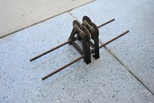 Vintage Anderson 20 A Frame Static Balancing Way Machine Grinding Wheel Balancer