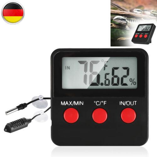 Thermometer Hygrometer Luftfeuchtigkeit Messgerät Min Max Innen Außen IN//OUT