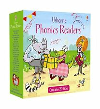 Phonics Readers Collection 20 Books Box Set Young Reader Series, Read at Home