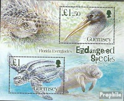 Obedient United Kingdom-guernsey Block41 (complete Issue) Unmounted Mint / Never Hinged 2 To Reduce Body Weight And Prolong Life
