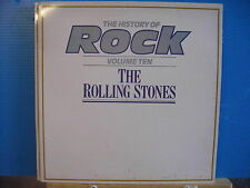 HISTORY OF ROCK The Rolling Stones GATEFOLD - Free UK Post
