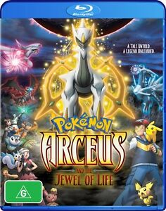 Pokemon Arceus The Jewel Of Life Movie 12 Blu Ray 2011