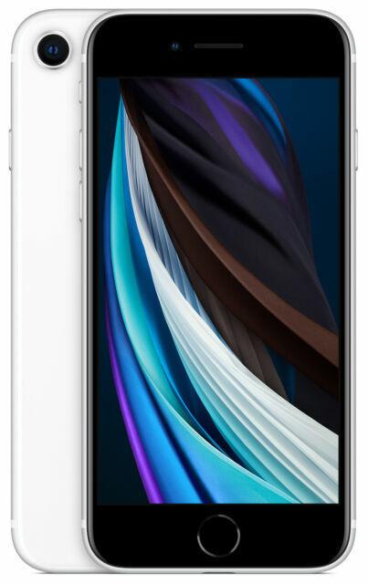 Apple Iphone Se 2nd Gen 64gb White Unlocked A2275 Cdma Gsm For Sale Online Ebay
