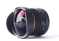8mm Fisheye Wide Angle Macro Lens for Canon Rebel T5i T4i T3i T3 T2i T1i T2 T3