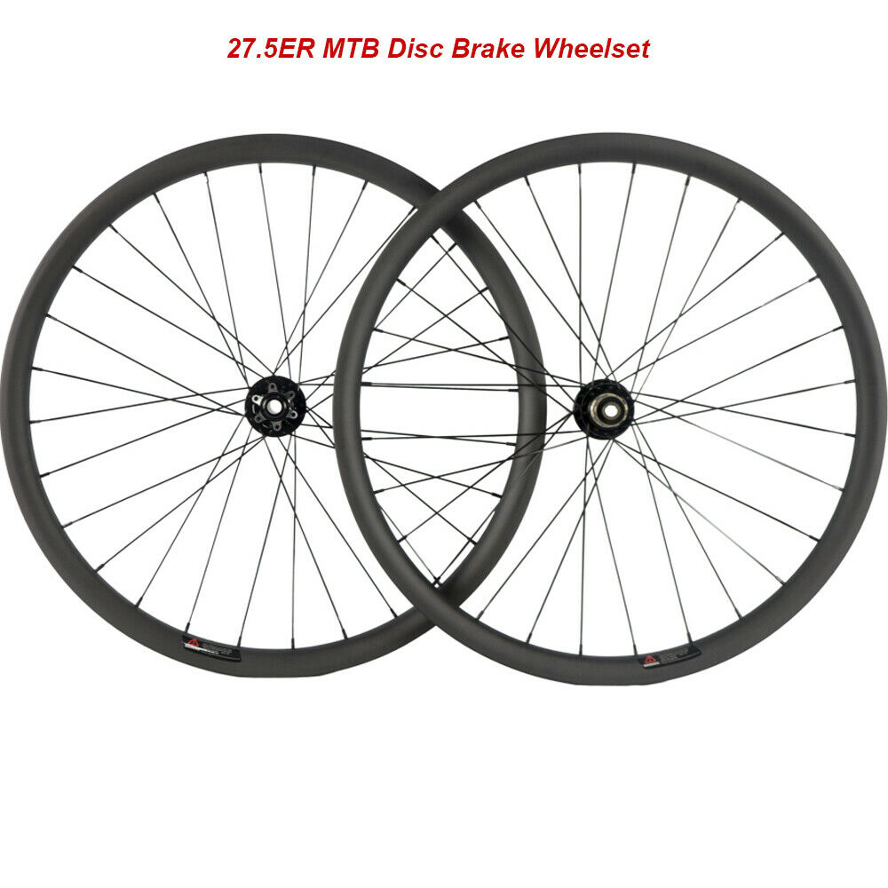 27.5ER MountainBike Carbon Wheels MTB Wheelset 40mm Width Tubeless Sram  Sram XD  outlet factory shop