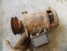 Farmall Ih A B C Bn Av Tractor Original 6v Generator Amp Good Belt Drive Fr Pulley