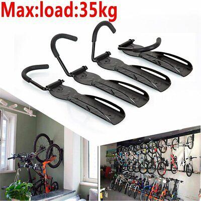 Steel Bike Rack Stand Storage Wall Mounted Hook Hanger Bicycle Holder Hanging