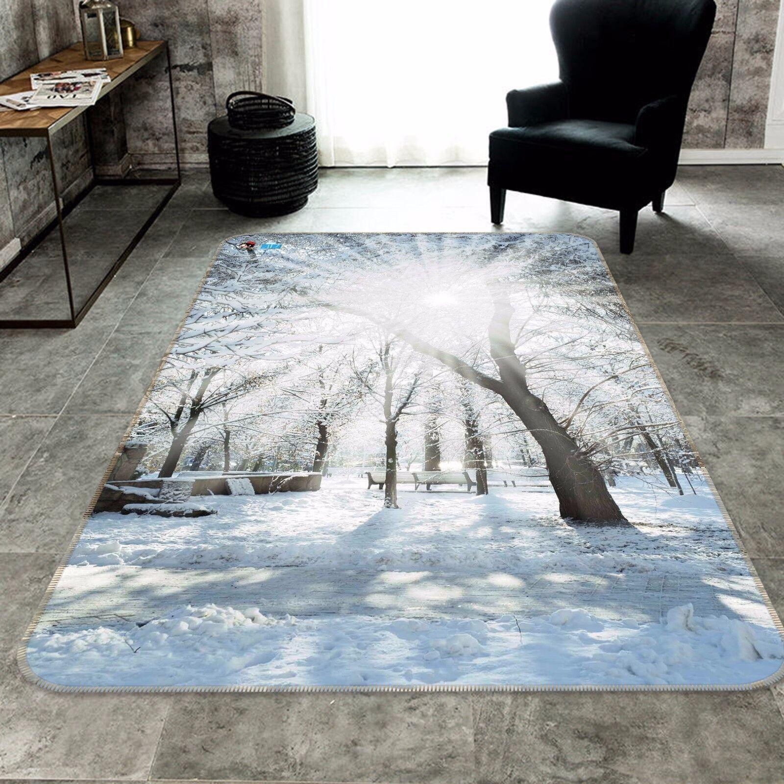 3D bianca Forest 424 Non Slip Rug Mat Room Mat Quality Elegant Photo Carpet CA
