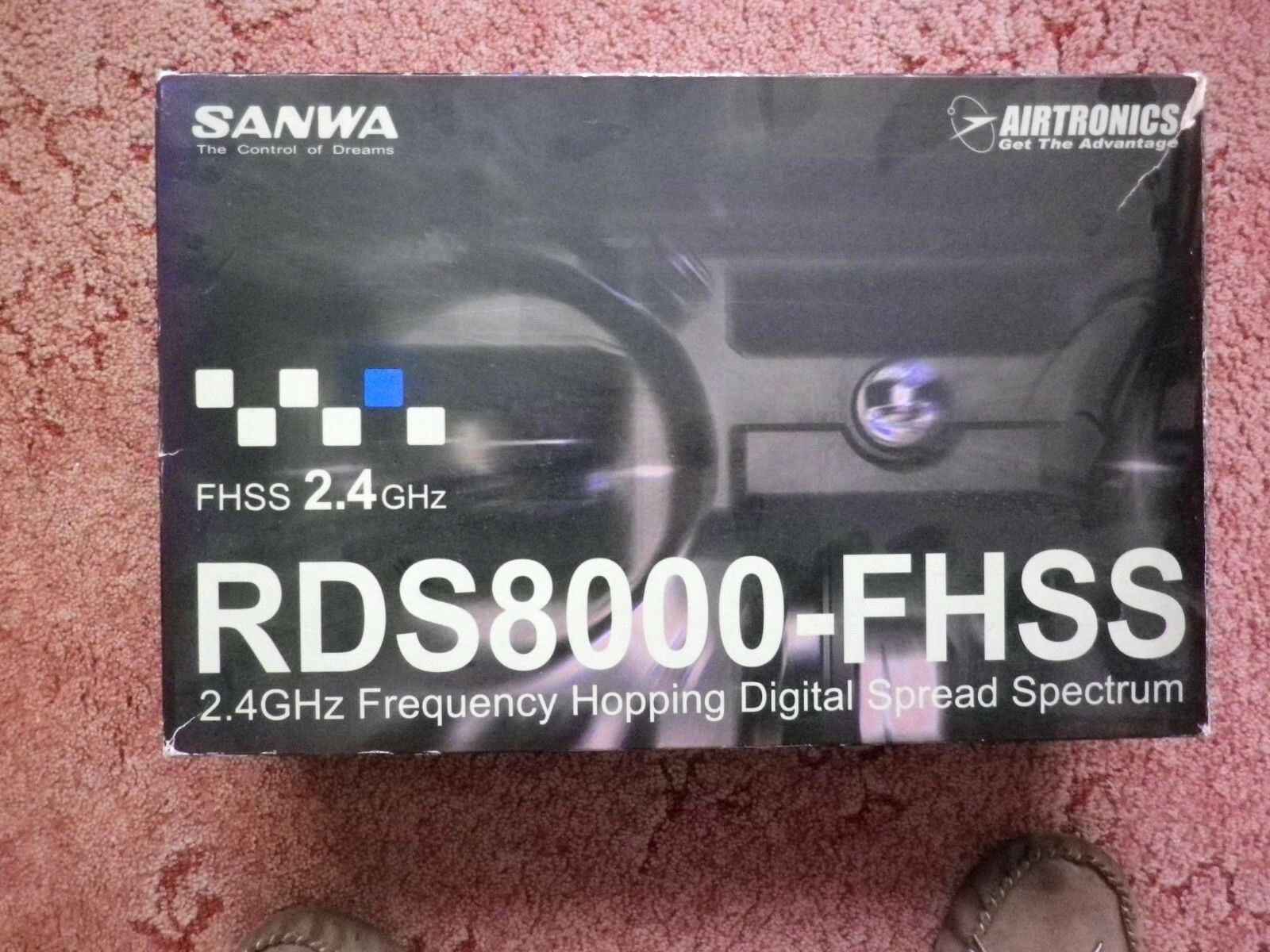 SANWA AIRTRONICS RDS8000  8-Channel 2.4GHz FHSS-1 Aircraft Radio