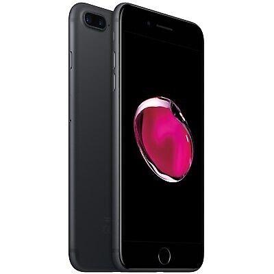 iPhone 7 Plus, GB 256, sort