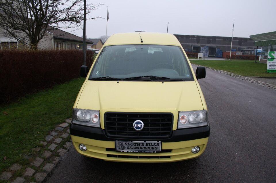 Fiat Scudo 2,0 JTD Diesel modelår 2006 km 115000 Gul nysynet