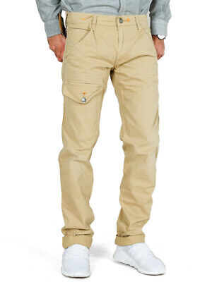 Hingebungsvoll Htc Herren Designer Slim Fit Chino Cargo Hose | Stretch | w32 | uvp*219€