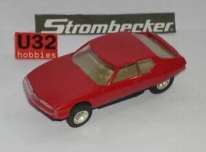 Fn Strombecker 9600 Citroen Sm Rouge Neuf Boite Ouverte