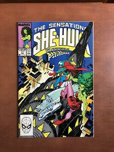 Sensational-She-Hulk-11-1990-7-5-VF-Marvel-Key-Issue-Copper-Age-Comic-Book