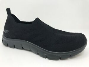 84c0218b2a8c8 New! Womens Skechers 12399 Empire Clear As Day Slip-On Shoe - Black ...