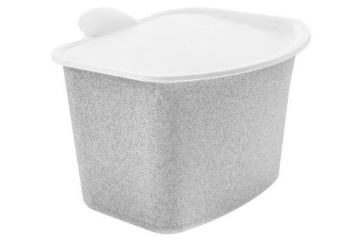 KOZIOL Bio-Abfall-Behälter Bibo organic grey 5605670