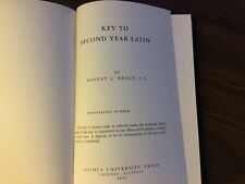 Henle Latin: Second Year Latin by Robert J. Henle (1958, Paperback)