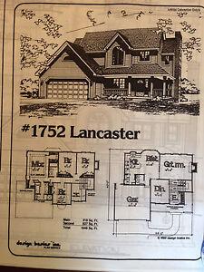 Home plans by Design Basics - 4 bedroom 3 bath 1846 sqft finished - bond print