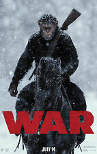 WAR FOR THE PLANET OF THE APES MANIFESTO WOODY HARRELSON JUDY GREER ANDY SERKIS