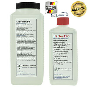 1-75-kg-CCA-zinguee-Epoxydharz-epoxi-laminierharz-Terra-Resine-Top-Qualite