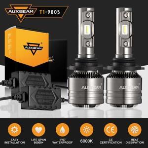 AUXBEAM-LED-Headlight-Kit-9005-HB3-70W-8000LM-6000K-Hi-Beam-White-with-canbus