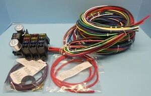 rebel wire volt wiring harness universal kit made in the image is loading rebel wire 12 volt wiring harness 9 3