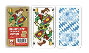 Schafkopf-Tarock-Schafkopfkarten-Leinen-Nuernberger-Spielkarten-Verlag-7020