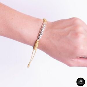 Kavak - Handmade Ties of  Hearts (Silver Hearts)
