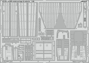 Eduard 1/48 Douglas A-26b B Invader Train D'atterrissage & Extérieur #48953