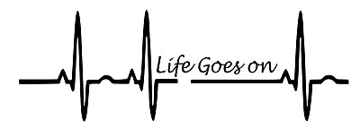 Sports Heart beat Life Decal Sticker for Laptop Macbook Car Window Home Wall Art