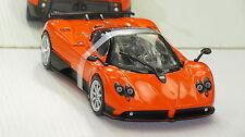 PAGANI  ZONDA  SUPER CAR    C12F   V12   ORANGE NEW IN BOX RARE!!!!!
